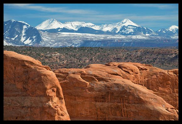 Arches National Park and La Sal Mountains 2