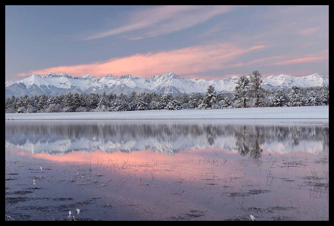 Sunrise reflection 1, CO