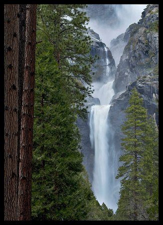 Yosemite N.P. - Lower Yosemite Falls