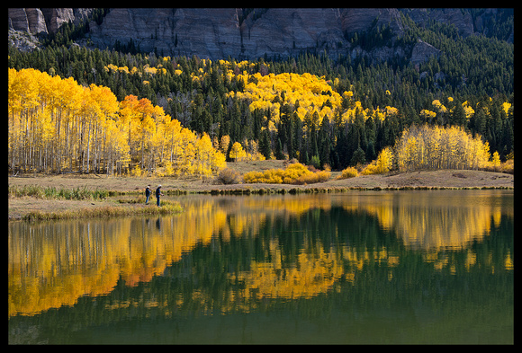 San Juan Mountains fall color fishers, CO